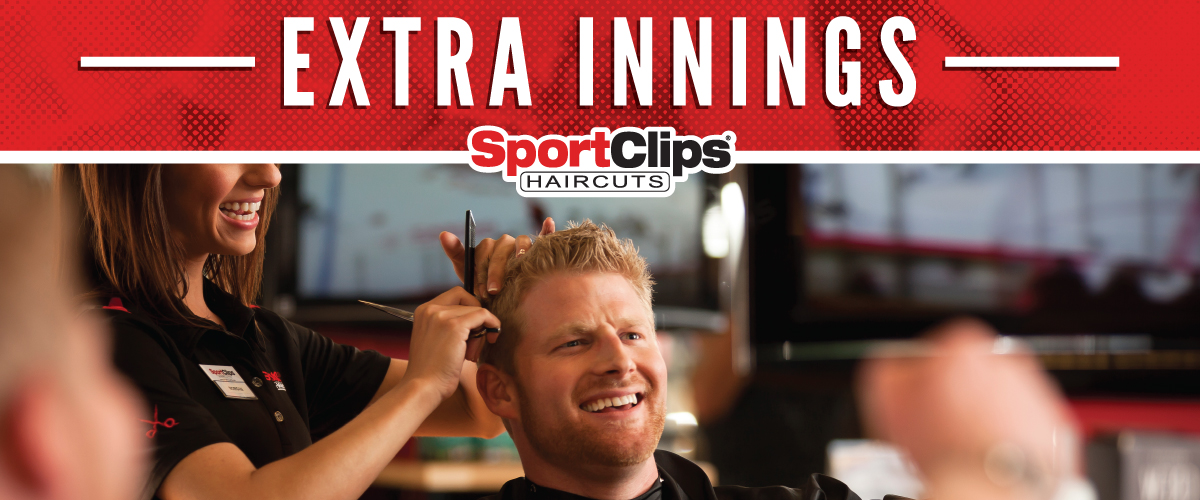 The Sport Clips Haircuts of West Fargo - West Plains Mall  Extra Innings Offerings